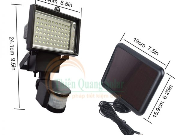 Đèn chống trộm năng lượng mặt trời TQS-073