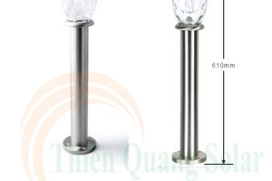 Đèn sân vườn năng lượng mặt trời BE-SL-300H