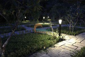 Đèn sân vườn năng lượng mặt trời TQS-2602-1.2m