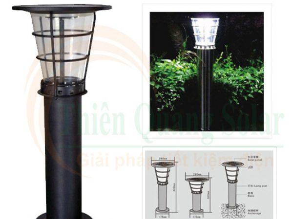Đèn sân vườn năng lượng mặt trời TQS-2602-60cm