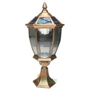 Đèn trụ cổng năng lượng mặt trời TQS-658