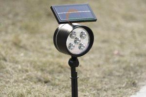 Đèn rọi tiểu cảnh năng lượng mặt trời TQS-803