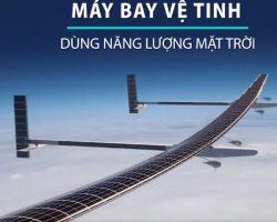 Máy bay vệ tinh sử dụng năng lượng mặt trời