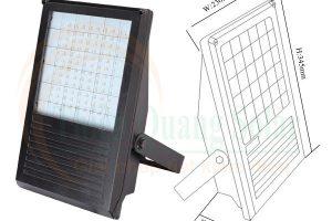 Đèn led pha năng lượng mặt trời TQS-PB001