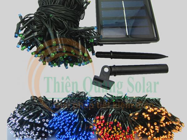 Đèn LED dây năng lượng mặt trời 10m 100LED